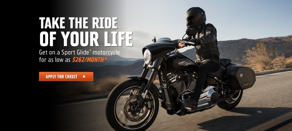 Get on a Sport GLide for as low as $262/month